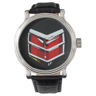 Hot Rod Car Tail Light Wrist Watches