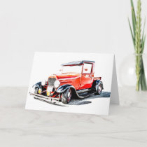 Hot Rod Card
