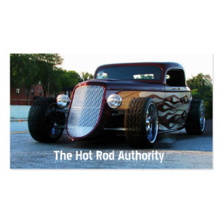 Hot Rod Central Business Card Templates