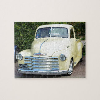 Hot Rod Chevrolet Pickup. Jigsaw Puzzle