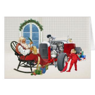 Hot Rod Christmas Cards - Invitations, Greeting & Photo Cards | Zazzle