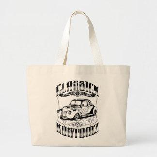 Hot Rod - Classick Kustomz (black) Canvas Bags