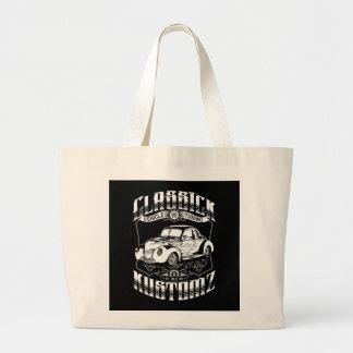 Hot Rod - Classick Kustomz (white) Canvas Bag