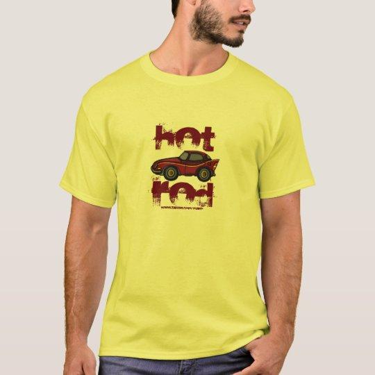 Hot rod cool t-shirt design