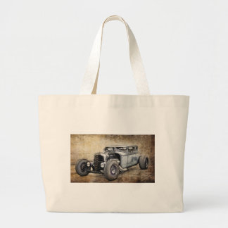 Hot Rod Coupe Canvas Bags