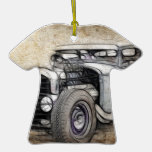 Hot Rod Coupe Christmas Ornament
