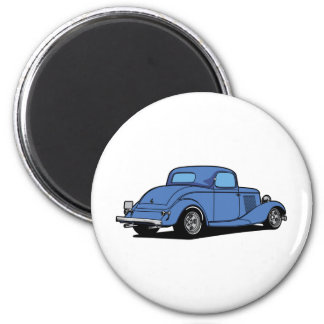 Hot Rod Coupe Magnet