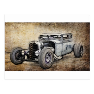 Hot Rod Coupe Postcards