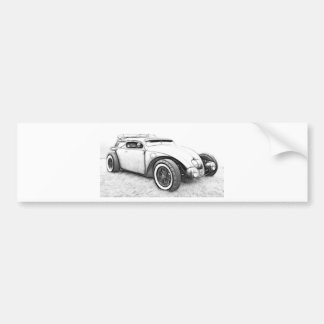 Hot Rod Custom Bumper Sticker