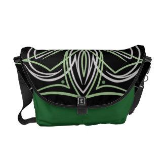 Hot Rod Custom Car Pinstripe Pinstriping Art Messenger Bag
