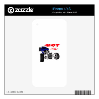 Hot Rod Decal For The iPhone 4