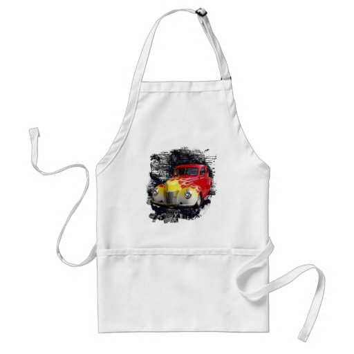 Hot Rod Deluxe Adult Apron