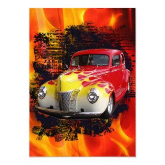 Hot Rod Deluxe Birthday Card
