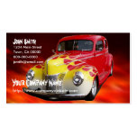 Hot Rod Deluxe Double-Sided Standard Business Cards (Pack Of 100)