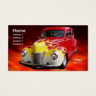 Hot Rod Deluxe Business Card