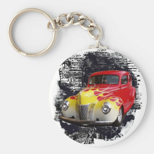 Hot Rod Deluxe Key Chain