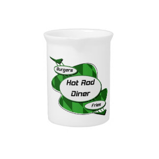 Hot Rod Diner By Gear4gearheads Pitchers