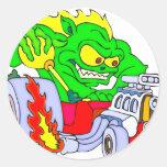 Hot Rod Dragon Sticker