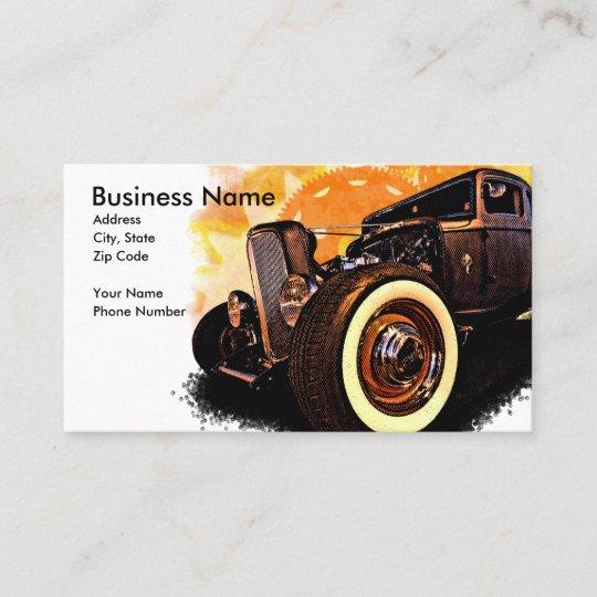 Hot Rod Dreams Business Card