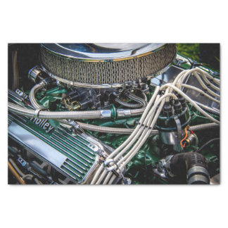 Hot Rod Engine Tissue Paper