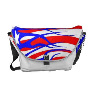 Hot rod flag pattern bag