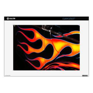 """Hot Rod Flames 15"""" Laptop Skins"""