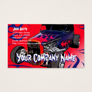 Hot Rod Flames Business Card