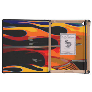 Hot Rod Flames Covers For iPad