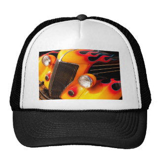 Hot Rod Flames Mesh Hat