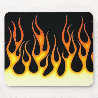 Hot Rod Flames Mouse Pad