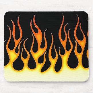 Hot Rod Flames Mousepads