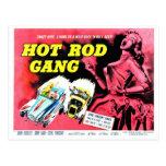 Hot Rod Gang (1958) Postcard