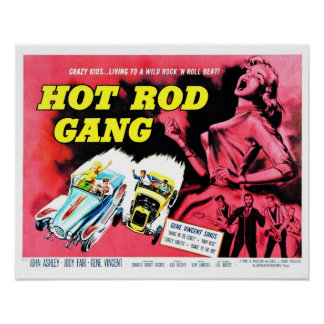 Hot Rod Gang (1958) Poster