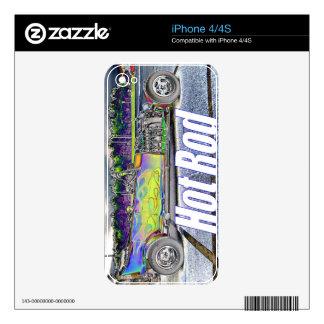 Hot Rod iPhone 4 Skin
