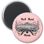 Hot Rod Mom Refrigerator Magnet