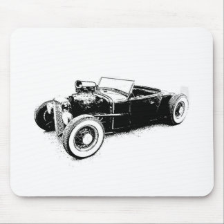 hot rod mouse pad