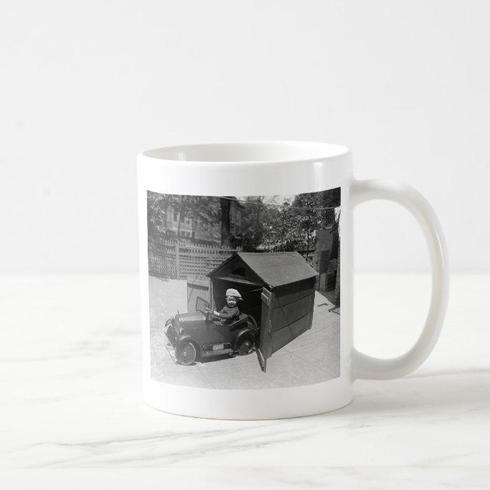 Hot Rod Pedal Car, early 1900s Coffee Mug