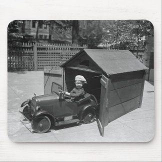 Hot Rod Pedal Car, early 1900s Mouse Pad