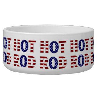 Hot Rod Pet Bowl