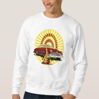 Hot Rod Pin Up Girl Sweatshirt