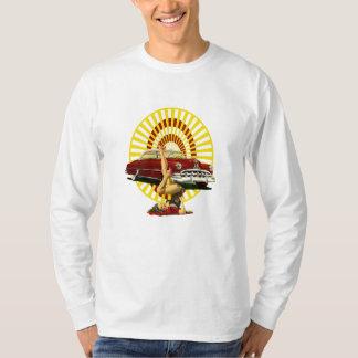 Hot Rod Pin Up Girl T-Shirt