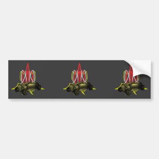 Hot Rod Pinstripe Bumper Sticker
