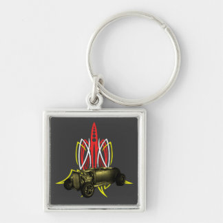 Hot Rod Pinstripe Key Chains
