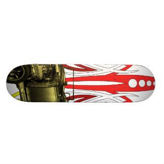 Hot Rod Pinstripe Skateboard Deck