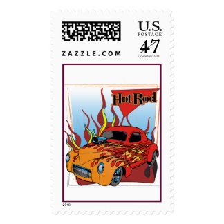Hot Rod Postage