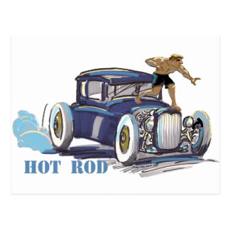 hOt rOd Postcard