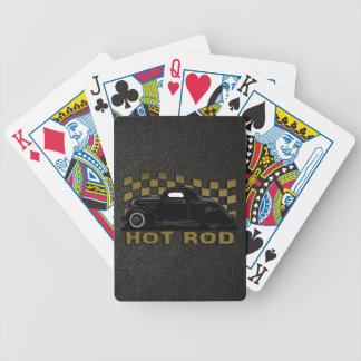 Hot Rod Racer Bicycle Playing Cards