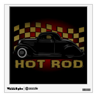Hot Rod Racer Variant Wall Decal