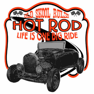 Hot Rod racing Standing Photo Sculpture