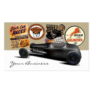 Hot Rod Reunion Double-Sided Standard Business Cards (Pack Of 100)